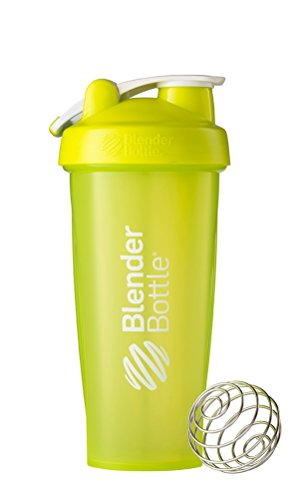 Blenderbottle Classic Loop Top Shaker Bottle, Green, 28 Ounce