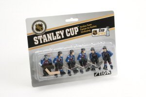 NHL Colorado Avalanche Table Top Hockey Game Players Team Pack