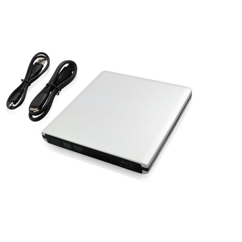LEICKE Panasonic UJ-260 External Blu-Ray Disc Burner Writer Drive USB 3.0 BD-R XL 100 GB  &  BD-RE XL 100 GB Support / Successor Model to Panasonic UJ-240