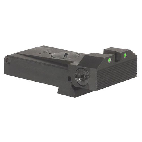 Certain Glock Adjustable Kensight Sight Trijicon Tritium Insert - Night Sights - Beveled Blade