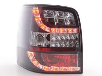 Audi A3 8L 96-03 Clear Red Rear Tail Lights Lamps Pair Set Driver Passenger