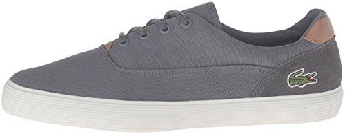 Lacoste Men's Jouer 316 1 Cam Fashion Sneaker, Grey, 9 M US