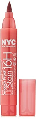 New York Color Smooch Proof Lip Stain, Endless Spice, 0.1 Fluid Ounce