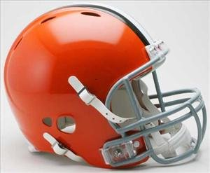 CLEVELAND BROWNS Riddell Revolution Football Helmet by OnField Productions