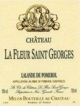 La Fleur Saint Georges Lalande De Pomerol 2009 750Ml