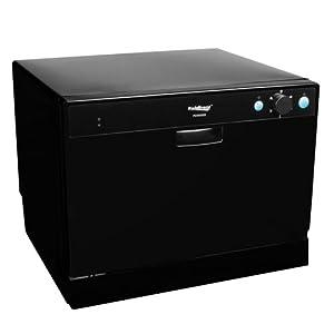 ... Place Setting Portable Countertop Dishwasher - Black: Appliances