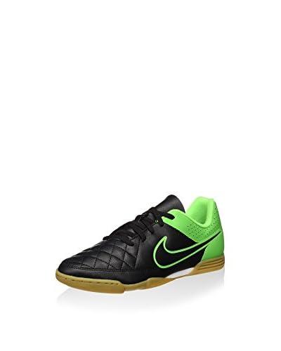 Nike Fußballschuh Jr Tiempo Rio II IC grün/schwarz