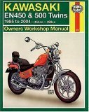 Kawasaki EN450 & 500 Twins (Ltd Vulcan) 1985 - 2004  Repair Manual 2053 (Haynes Manuals)