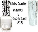 31WSBt05geL. SL160  duri White Witch Krakl Nail Polish .5oz (15ml) + duri Nail Polish Celebrity Scandal (#536) Reviews