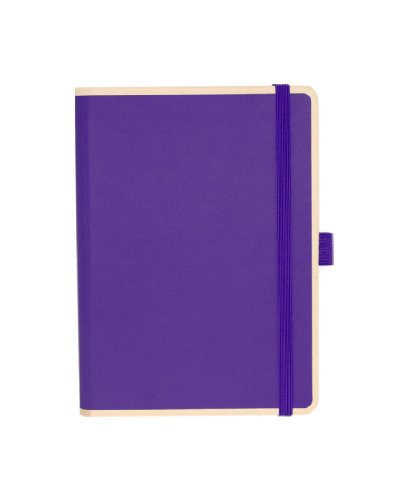 Le Profesionnel Small Notebook, plum +++ 100 fogli di (liniert) +++ stylisches SKETCH- AND NOTIZBUCH +++ qualità originale SEMIKOLON