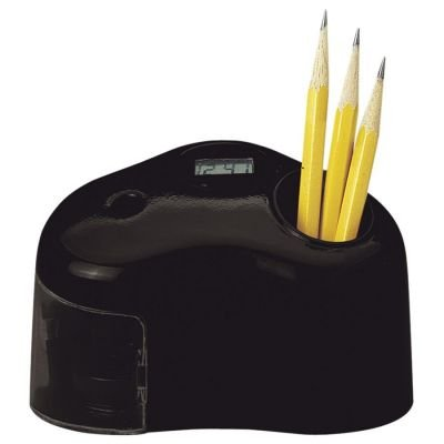 "Personal Pencil Sharpener, 2 1/4""X5""X4 1/3"", Black (Hun16768) Category: Electric And Battery Operated Pencil Sharpeners"