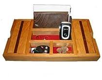Cherry Wood Dresser Valet for Men