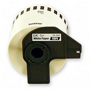 Brother DK2205 - Paper tape - Roll  - for QL 500, 550, 580N