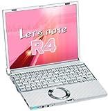 Panasonic Lets note CF-R4(B5ノート/10.4型液晶搭載) CF-R4JW4AXS PentiumM-1.2GHz/512MB/60GB