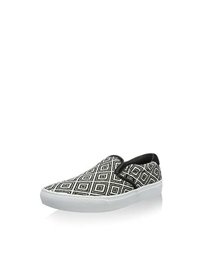 Vans Slip-On Ua Negro / Blanco