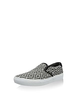 Vans Slip-On Ua (Negro / Blanco)