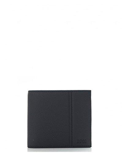 Hugo Boss Black Traveller 4 Leather Coin Wallet BLACK One Size