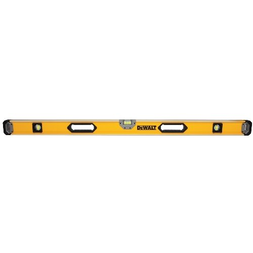 DEWALT DWHT43049 48 inch Magnetic Box Beam Level (Color: Yellow, Tamaño: Pack of 1)
