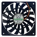 Scythe Slip Stream Slim 120mm Case Fan (SY1212SL12L) (120mm Case Fan Slim compare prices)