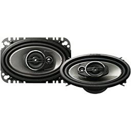 PIONEER TS-A4674R 4 X 6 3-WAY SPEAKERS