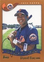 David Bacani Brooklyn Cyclones - Mets Affiliate 2002 Topps Draft Pick Autographed... by Hall of Fame Memorabilia