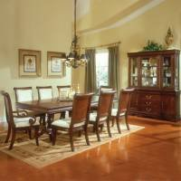 Kathy Ireland Furniture St, Pierre 17900 - Dining Set Collection with Double Pedestal Table