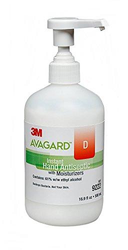 mckesson-9222-sanitizer-hand-avagard-d-500ml-antiseptic-chg-ethanol-pump-ea-by-3m-medical-products