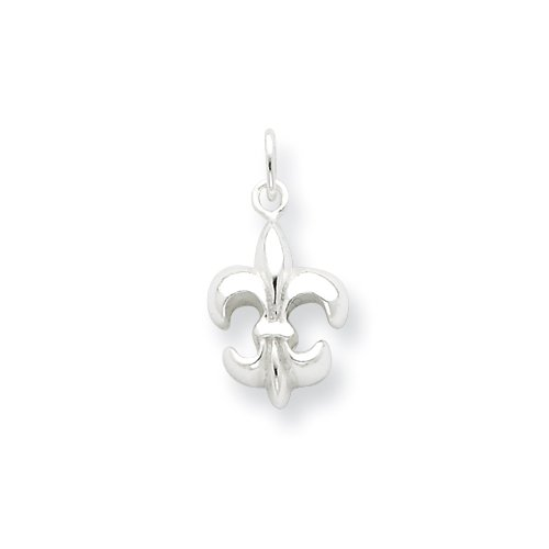 Sterling Silver Small Fleur de Lis Charm