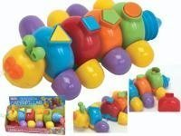Chrissie the Caterpillar pull along shape sorter toy by az - 1