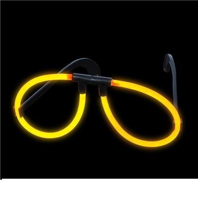 Orange Light-Up Glow Stick Glasses (package of 12) - 1