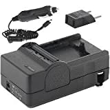 Canon EOS Rebel XS Digital Camera Battery Charger Mini Battery Charger Kit - (110/220v With Car & EU Adapters)...