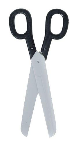 Giant Scissors Black W/Silver - 15.5 inches
