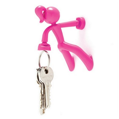 bright pink magnetic key holder
