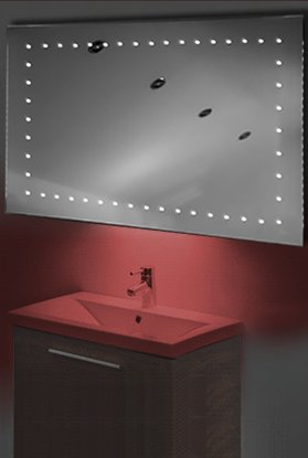 Ambient Shaver Led Bathroom Illuminated Mirror With Demister Pad & Sensor K171R
