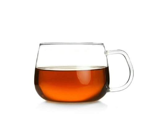 Ultra Clear Heat-Resistant Glass 350Lm Tea/Coffee Cup