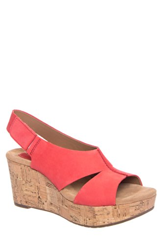 Clarks Caslynn Lizzie High Wedge Sandal