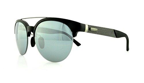 Gucci Men'S Round Sunglasses, Matte Black/Black Mirror, One Size