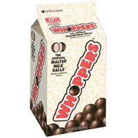 Hersheys Whoppers Mini Carton Original Malted Milk Balls Candy - 3.5 Oz, 15 / Pack