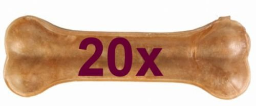 Artikelbild: Vitakraft Hunde Kauknochen aus Büffelhaut, 30 g, 10 cm lang, 20er Pack, 1er Pack (1 x 600 g)