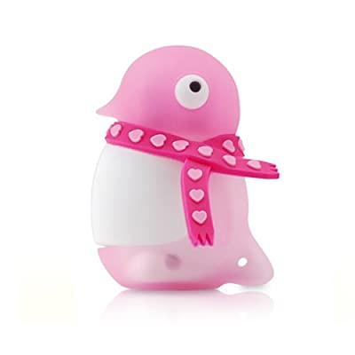 4GB PINK Penguin USB Flash Memory Drive from JellyFlash