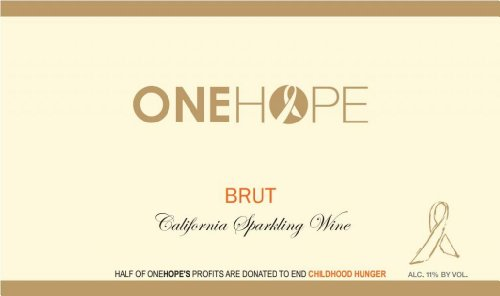 ONEHOPE NV  California Brut Sparkling 750 mL