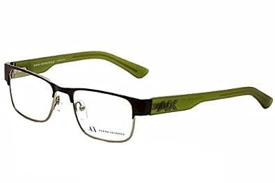 Armani Glasses Frames Boots : Amazon.com: Armani Exchange AX1012 Eyeglasses-6045 Black ...