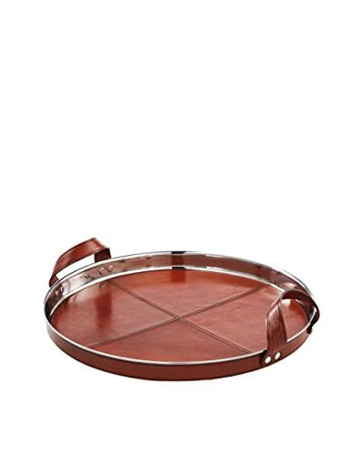 Go Home Chapin Tray, Brown/Silver