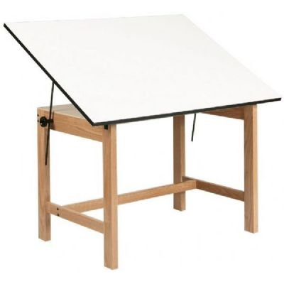 TITAN WOOD TABLE 37.5x60x30 Drafting, Engineering, Art (General Catalog)