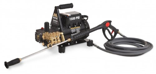 Mi-T-M Cd-1502-3Muh Cd Series Cold Water Electric Direct Drive, 2.0 Hp Motor, 120V, 17A, 1500 Psi Pressure Washer