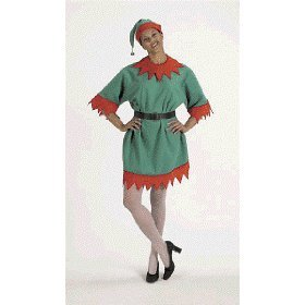 Elf Adult Velour Costume