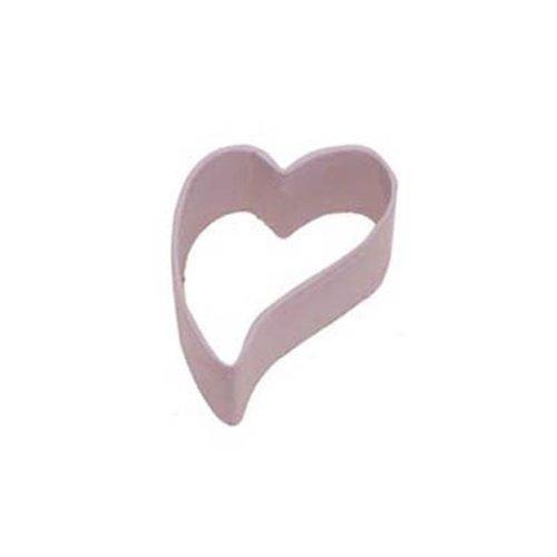 Dress My Cupcake DMC41CC115SET Folk Heart Cookie Cutter, 2.5-Inch, Pink, Set of 12