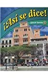 img - for Asi se dice: Glencoe Spanish 1b (Spanish Edition) book / textbook / text book