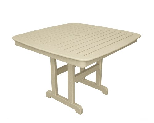 This deals polywood nct44sa nautical dining table 44 inch for Dining table deals
