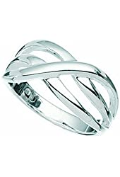 Twist Thumb Ring Silver Sizes 6 up 10 Available
